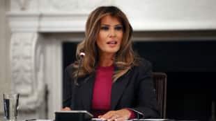 Melania Trump befindet sich nach der OP auf dem Weg der Besserung