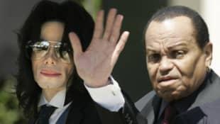 Michael Jackson und Joe Jackson