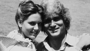 Leslie Landon und Michael Landon