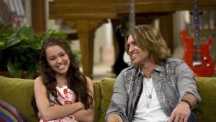 Miley Cyrus und Billy Ray Cyrus