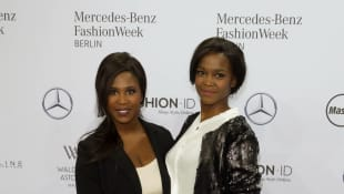 Motsi an der Seite ihrer Schwester Oti Mabuse
