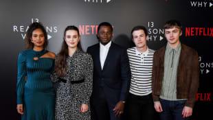 """Die """"Tote Mädchen lügen nicht""""-Stars: Alisha Boe, Katherine Langford, Derek Luke, Dylan Minnette und Miles Heizer 3. Staffel"""