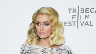 Paris Hilton auf dem Roten Teppich