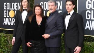 Pierce Brosnan und seine Familie