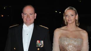 Fürst Albert II. und Charlène von Monaco