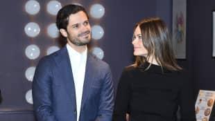Prinz Carl Philip und Prinzessin Sofia 2019