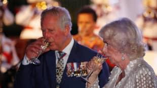 Prinz Charles und Camilla Parker-Bowles
