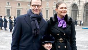 Prinz Daniel, Prinzessin Victoria und Prinzessin Estelle
