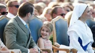 Prinz Daniel, Prinzessin Estelle und Prinzessin Victoria Schweden