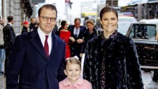Prinz Daniel, Prinzessin Estelle und Prinzessin Victoria