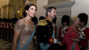 Kronprinzessin Mary und Kronprinz Frederik