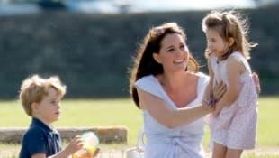 Prinz George, Herzogin Kate und Prinzessin Charlotte