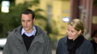 Prinz Haakon und Prinzessin Mette-Marit im Jahr 2000