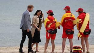 Prinz Harry Herzogin Meghan Rettungsschwimmer