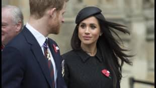 Prinz Harrys und Meghan Markles Hochzeit wird im TV übertragen