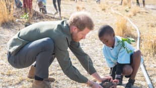 Prinz Harry in Botswana