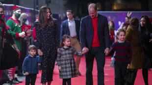 Prinz Louis, Herzogin Kate, Prinzessin Charlotte, Prinz William, Prinz George