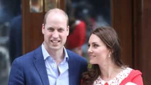 Bilder des Royal Baby. Prinz William und Herzogin Kate haben einen Sohn bekommen