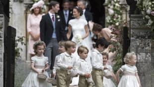 Pippa Middleton Hochzeit Blumenkinder
