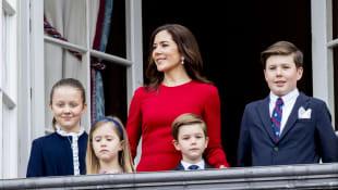 Prinzessin Isabella, Prinzessin Josephine, Prinzessin Mary, Prinz Vincent, Prinz Christian