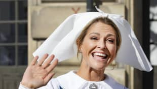 Prinzessin Madeleine ist nach ihrem Besuch in Schweden wieder zurück in den USA