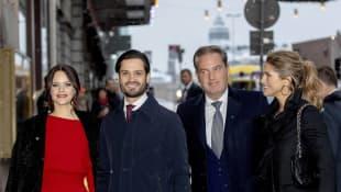 Prinzessin Sofia, Prinz Carl Philip, Chris O'Neill, Prinzessin Madeleine