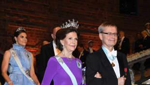Prinzessin Victoria, Königin Silvia und Frank Joachim
