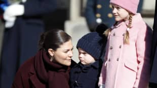 Prinzessin Victoria, Prinz Oscar und Prinzessin Estelle