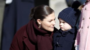 Prinzessin Victoria mit Prinz Oscar