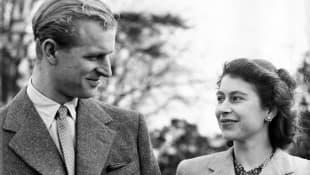 Königin Elisabeth II. Prinz Philip