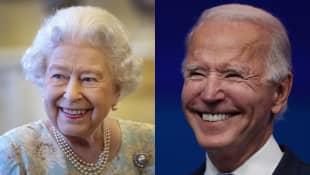 Königin Elisabeth II. gratulierte Joe Biden zur Amtseinführung