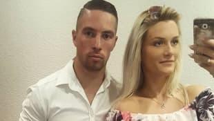 Ramon Roselly und seine Freundin Lorena