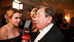 Richer Lugner Cathy Lugner 62. Wiener Opernball