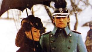 Romy Schneider and Helmut Berger in the movie