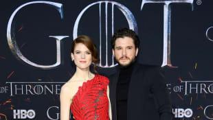 """Rose Leslie und Kit Harington bei der""""Game of Thrones""""-Premiere"""