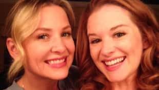 Jessica Capshaw und Sarah Drew