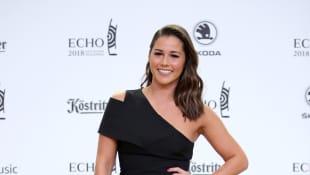 Sarah Lombardi zeigte beim Echo 2018 ihre neue Frisur