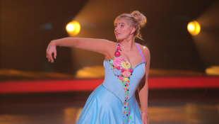 """Dancing on Ice"": Sarina Nowak"