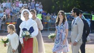 schwedische Königsfamilie Kronprinzessin Victoria Prinzessin Madelaine Prinz Carl Philip