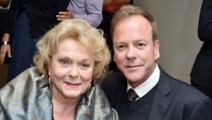 Shirley Douglas und Kiefer Sutherland