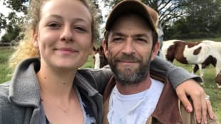 Luke Perry Verlobte