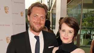 Stephen Campbell Moore und Claire Foy