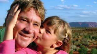 Steve Irwin und seine Tochter Bindi