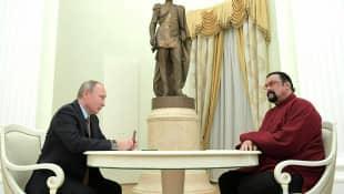 Steven Seagal und Putin