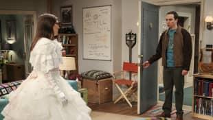 "TBBT ""Amy"" und ""Sheldon"""