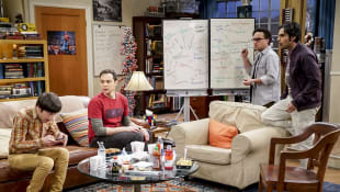 The Big Bang Theory Howard  Sheldon, Leonard und Raj