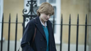 """The Crown"": Emma Corrin als Lady Diana"