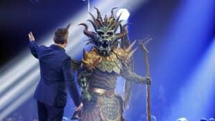 """The Masked Singer""-Drache"