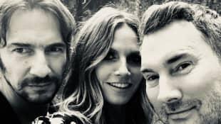 Thomas Hayo, Heidi Klum und Michael Michalsky