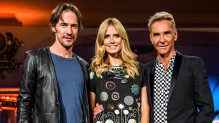 Germany's Next Topmodel Thomas Hayo Heidi Klum  Wolfgang Joop